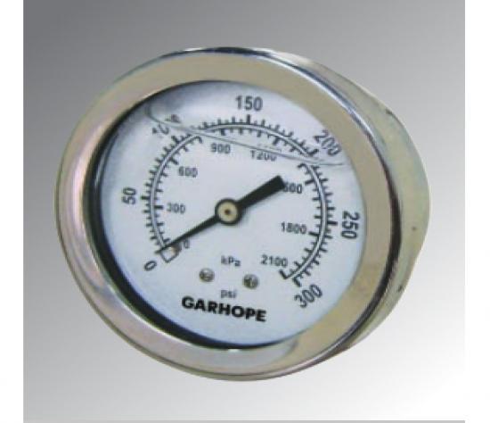 充油压力表            轴向/轴向前边/轴向U型夹