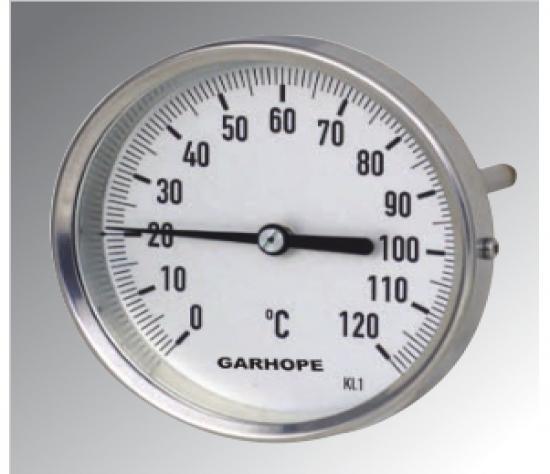 双金属温度计  优化型 轴向